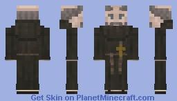 Saxon Monk, Old Minecraft Skin