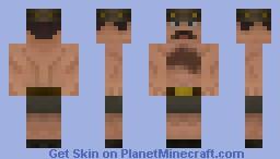 Saxton Hale Minecraft Skin