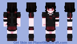saya kisaragi - blood-c Minecraft Skin
