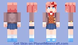 [DDLC Plus] Sayori Minecraft Skin