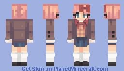 Wand|| Sayori DDLC Minecraft Skin
