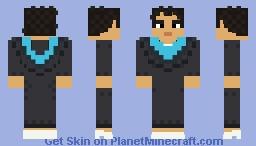 SCI Female Graduate Minecraft Skin