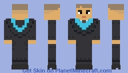 SCI Male Graduate Minecraft Skin