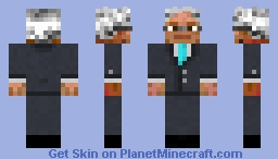 Scott Morrison (Australian PM) Minecraft Skin