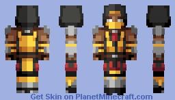 Scorpion   Mortal Kombat Minecraft Skin