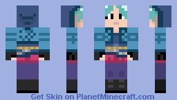 Ramona Flowers!! Minecraft Skin