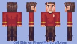 Scotty (Engineer) Star Trek TOS Minecraft Skin