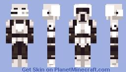 STAR WARS™ - Scout Trooper Minecraft Skin