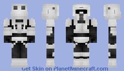 Imperial Scout Trooper Minecraft Skin