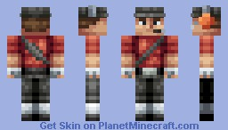 Scout (Blue Version In Desc) Minecraft Skin