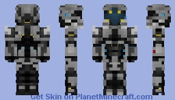 """SCP-5000 """"The Suit"""" Minecraft Skin"""