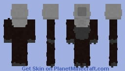 "SCP-2006 ~ ""Too Spooky"" Minecraft Skin"