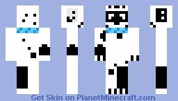 Dizzy Dalmatian Minecraft Skin