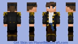 DanFrenchtoast First Mate Timezones (Golden Age of Piracy) Minecraft Skin