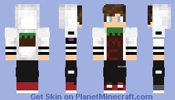 Minecraft club jacket Minecraft Skin