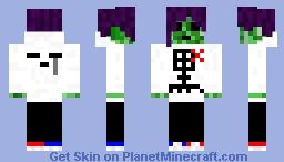 Anime Creeper Minecraft Skin