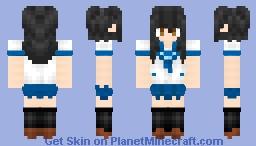 himeragi yukina strike the blood Minecraft Skin