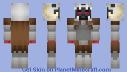 Ares (Justice League) #SnyderCut Minecraft Skin