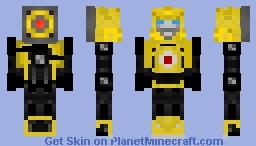 Bumblebee (Transformers: Generation One) Reissue Minecraft Skin