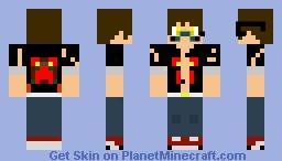 The Buff Smart Minecraft Skin