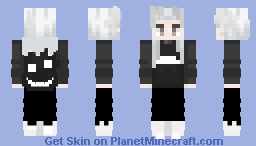 GHOSTEMANE (andromeda) ( 444 Embroidered Coach Jacket outfit ) Minecraft Skin