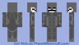 Knight skull Minecraft Skin