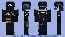 GIGN Minecraft Skin