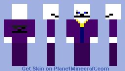 Gangster skull Minecraft Skin