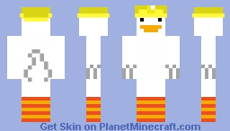 Untitled Goose(Wario) Minecraft Skin
