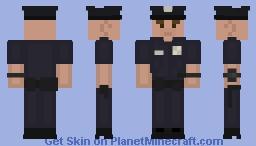 LSPD Officer [White Male] Minecraft Skin
