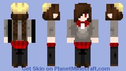 Yonaka kurai Minecraft Skin