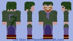 The Clown in the Swamp Minecraft Skin