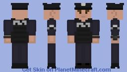 LSPD Officer with Vest [White Male] Minecraft Skin