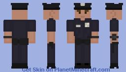 LSPD Officer [Caucasian Male] Minecraft Skin
