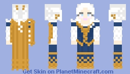 Maria theresa of austria Minecraft Skin