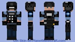 Minneapolis Police SWAT / Kit C Minecraft Skin