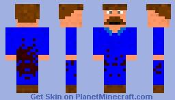 Scruffy made an oops!!! Minecraft Skin
