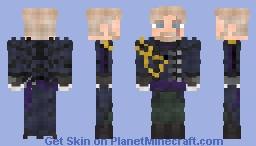 Navy Captain (Old Style) Minecraft Skin