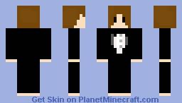 Boy w/ Suit Minecraft Skin