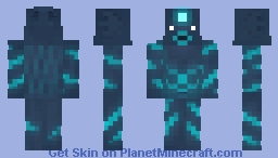 The Creature from the Darkness of the Deep Minecraft Skin