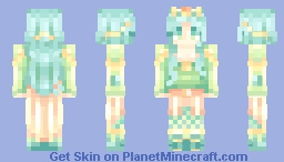 Lady of the Sea Minecraft Skin