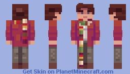 DOCTOR WHO 4th Doctor (Season 12) Minecraft Skin
