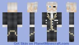Overlord - Sebas Minecraft Skin