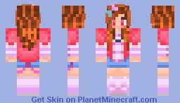 ✄---teen girl--- Minecraft Skin