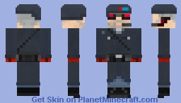 SS13 Security Officer Minecraft Skin