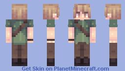 no this isn't shaggy Minecraft Skin