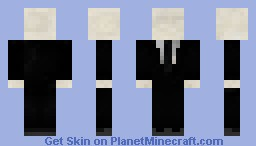 Slenderman Realistic Skin