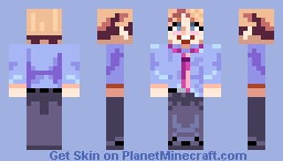 Friday Night Funkin's Senpai Minecraft Skin