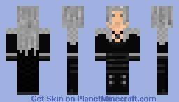 Final Fantasy Sephiroth Minecraft Skin