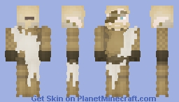 [X] LOTC: Starfelt's Golden Armor (First Armor Skin of Mine) Minecraft Skin